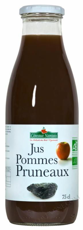 Jus pommes pruneaux 75 cl