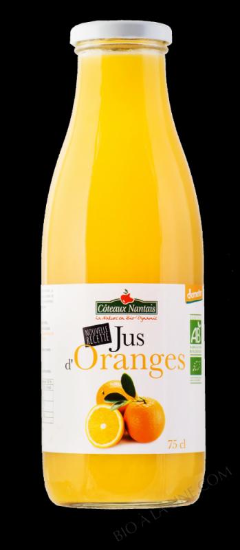 Jus oranges 75 cl Demeter