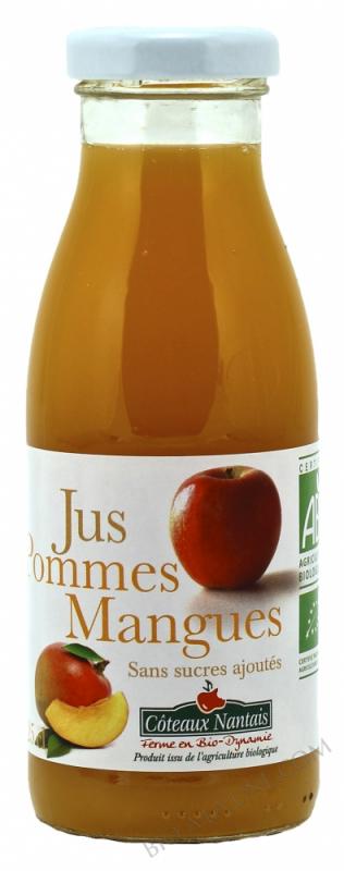 Jus pommes mangues Bio 25cl