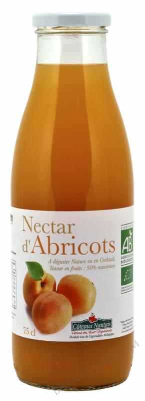 Nectar abricots Bio 75cl