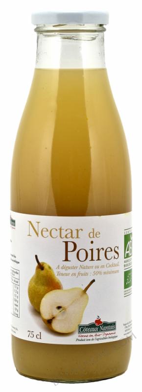 Nectar poires Bio 75cl