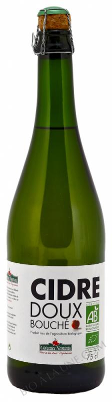 Cidre doux bouche Bio 75cl