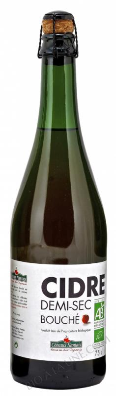 Cidre demi sec bouche Bio 75cl