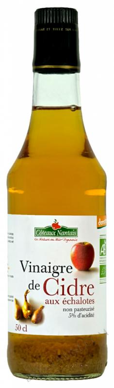 Vinaigre de cidre échalotes 50 cl