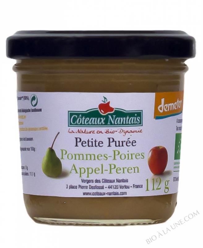 Petite puree pommes poires Bio et Demeter 112g