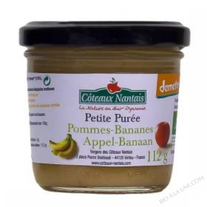 Petite puree pommes bananes Bio et Demeter 112g