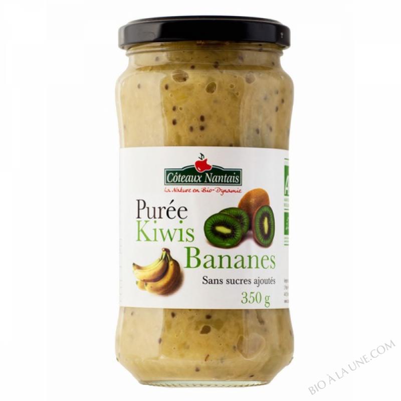 Puree kiwis bananes 350g