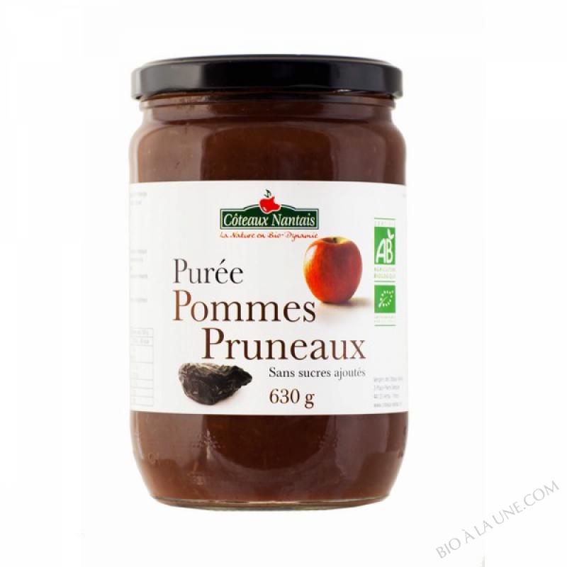 Puree pommes pruneaux 630 g