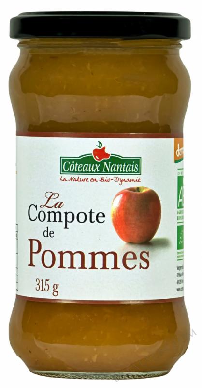 Compote  pommes 315 g Demeter
