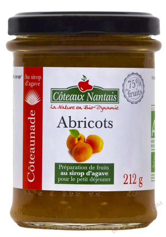 Coteaunade Abricots Bio 212g