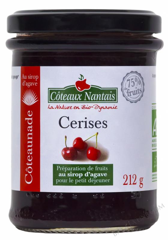 Coteaunade Cerises Bio 212g