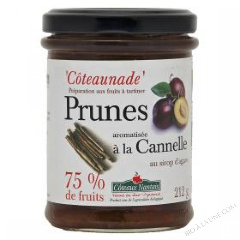 Coteaunade Prunes cannelle Bio 212g