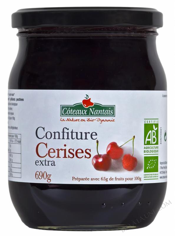 Confiture cerises extra 690 g