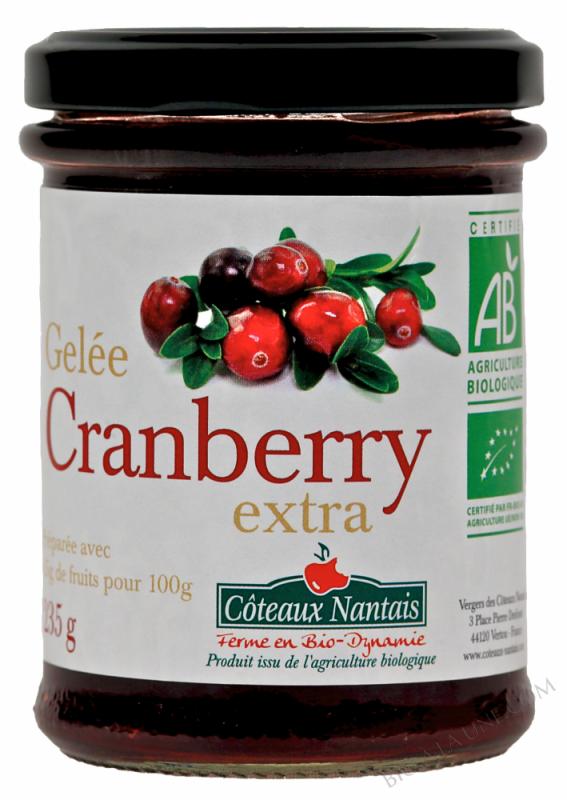 Gelee cranberry Bio 235g