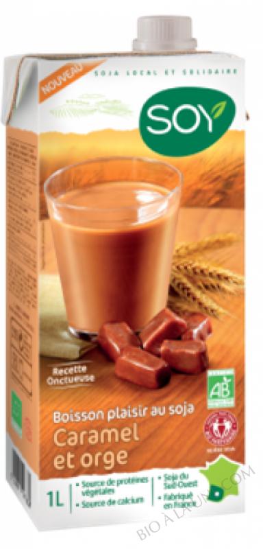 Boisson Plaisir Caramel et Orge - 1 L