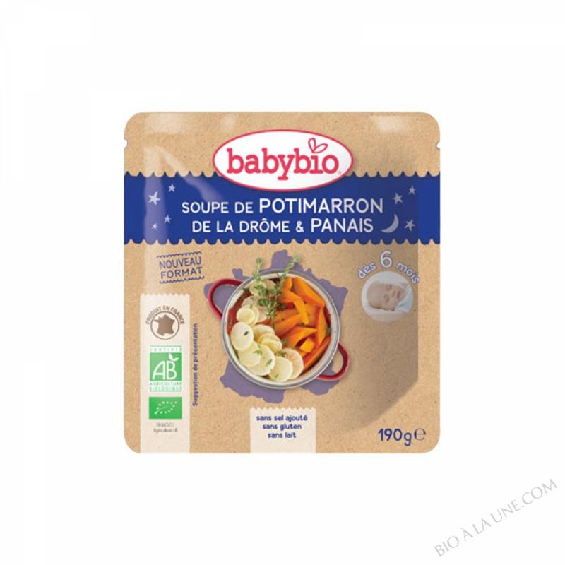 Doypack Soupe Potimarron Panais - 190g