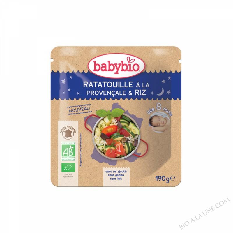 Doypack B. Nuit Ratatouille Provençale Riz - 190g