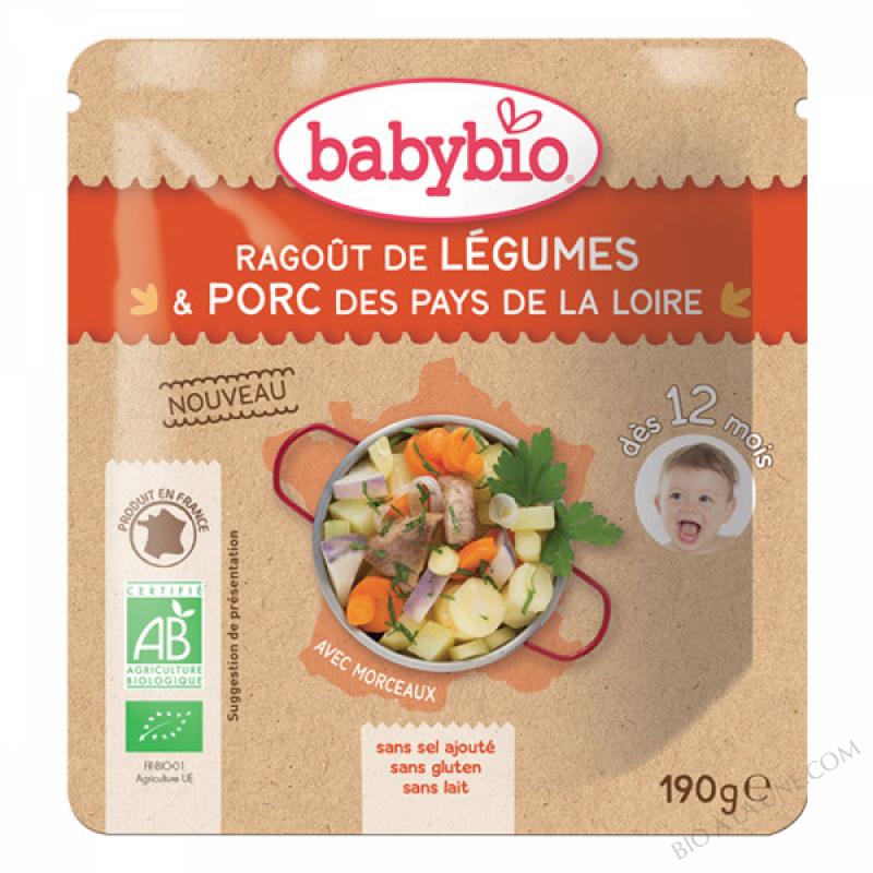 Doypack Ragout de Legumes Porc - 190g