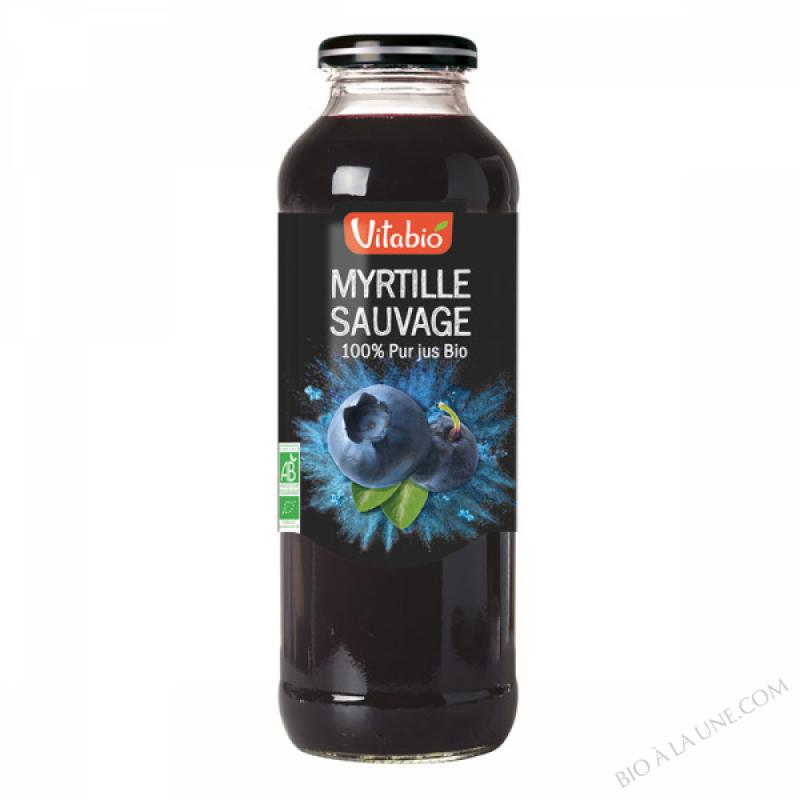 Pur Jus de Myrtille Bio 50cl