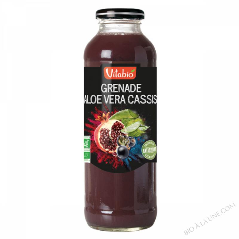 Antioxydant Grenade Cassis Aloe Vera -  - 50cl