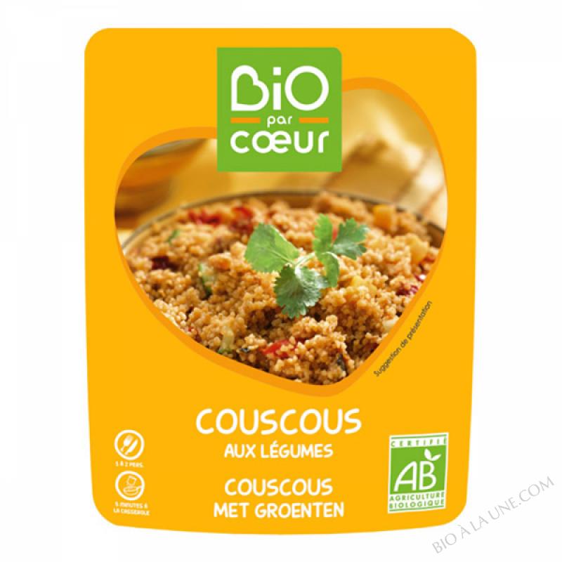 COUSCOUS AUX LEGUMES BIO 220G
