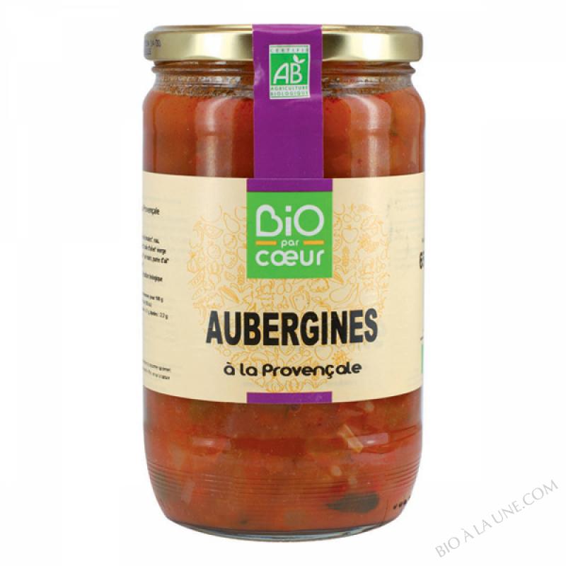 Aubergines à la provençale Bio 650g