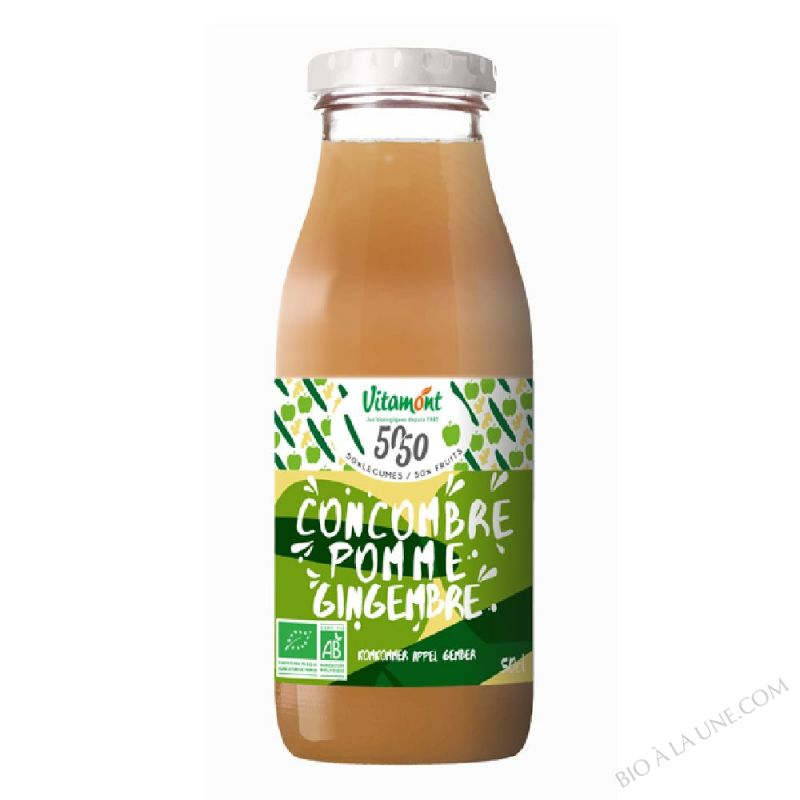 Cocktail Concombre Pomme Gingembre 50cl