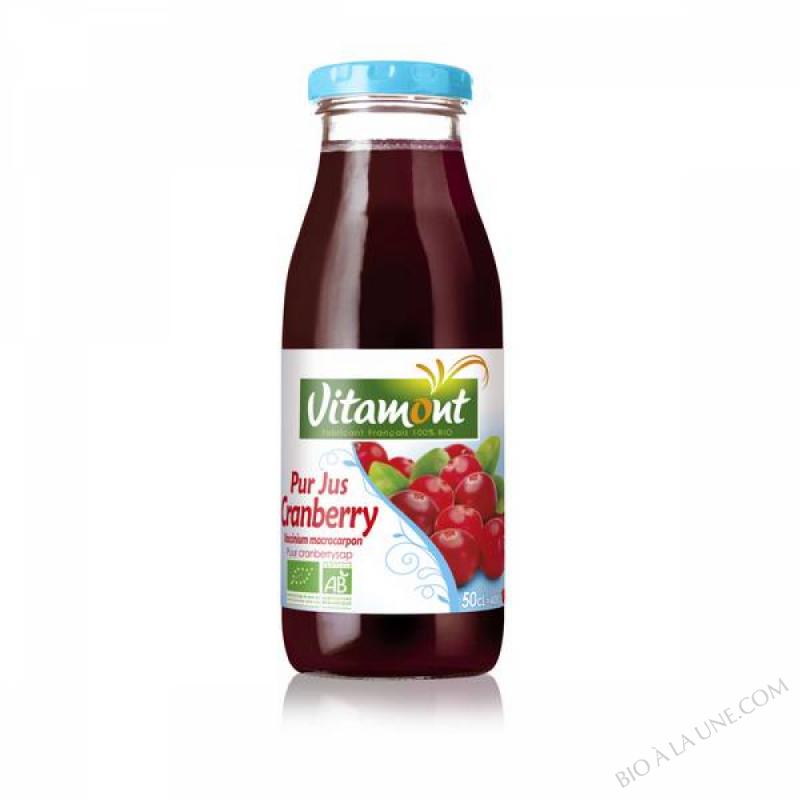 Pur Jus de Cranberry Bio 50cL