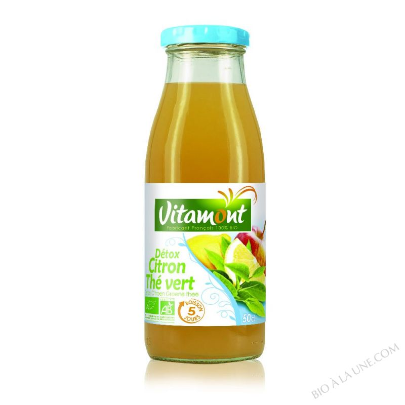 Detox - Citron Thé vert - 50CL