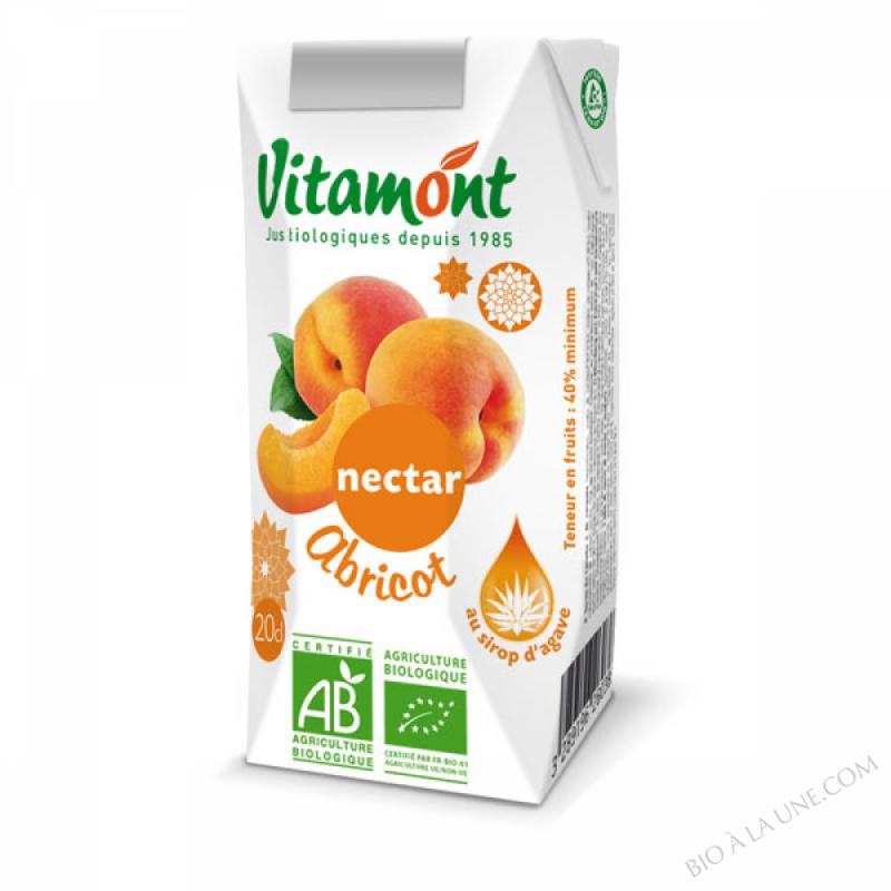 Nectar d'Abricot au Sirop D'Agave Tetra 20cl