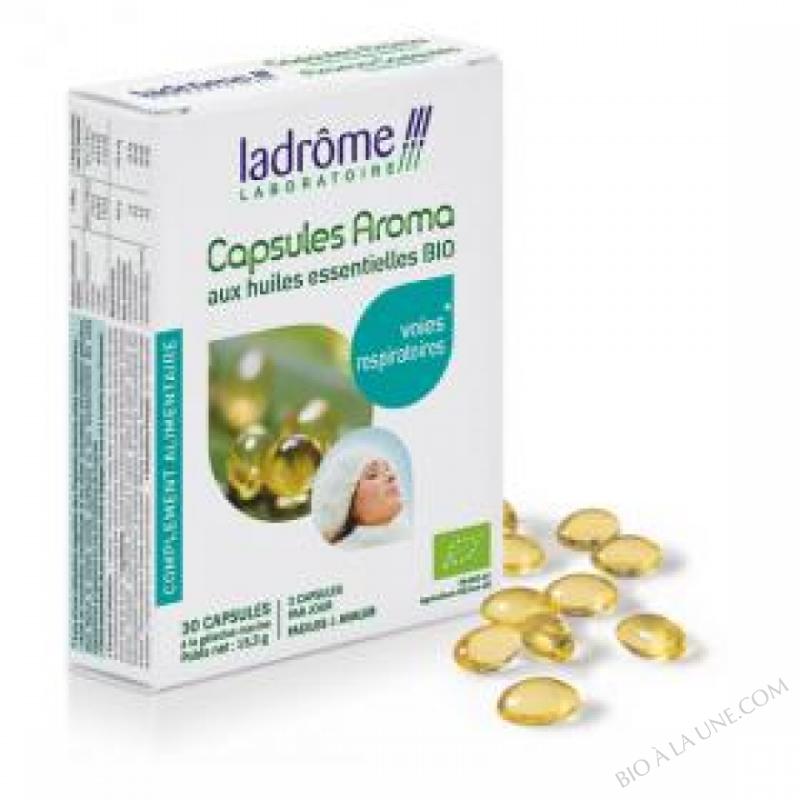 Capsules Aroma Voies Respiratoires - 30 Capsules