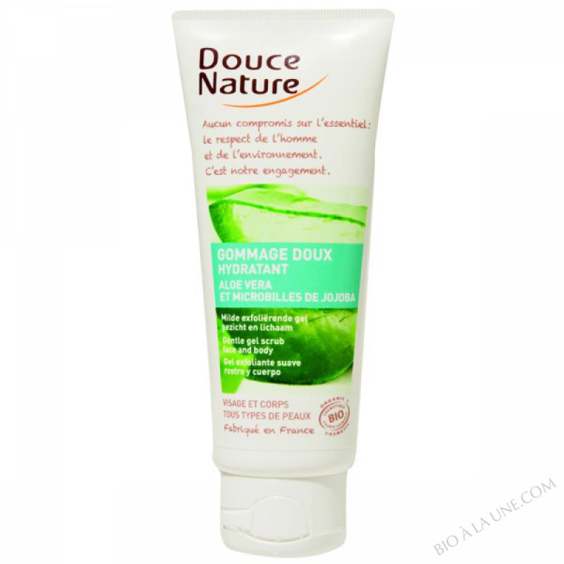 Gommage doux Hydratant Aloe Vera 75ml