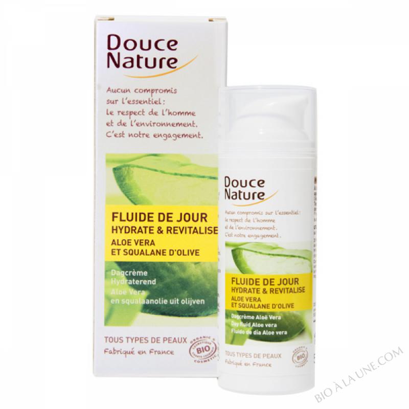 Fluide Jour Hydratant Aloe Vera 50ml