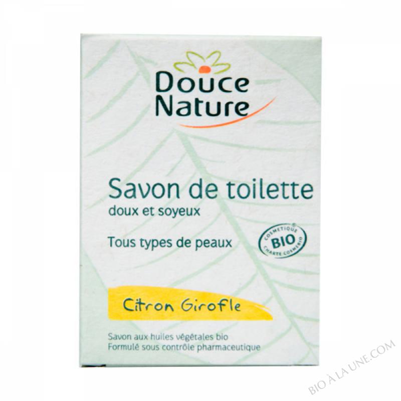 Savon de toilette Citron Girofle Bio 100g