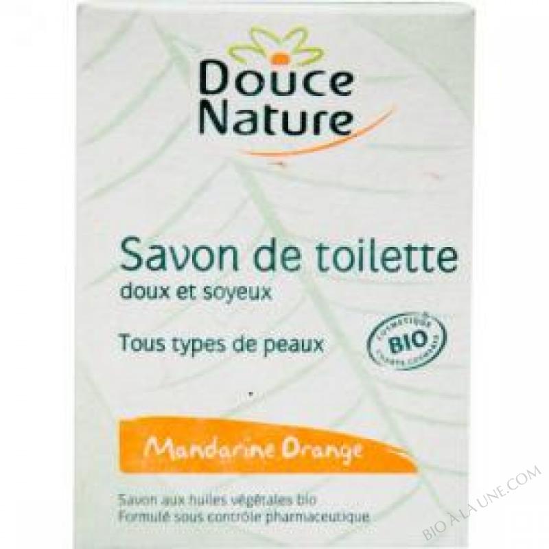 Savon de toilette Mandarine Orange Bio 100g