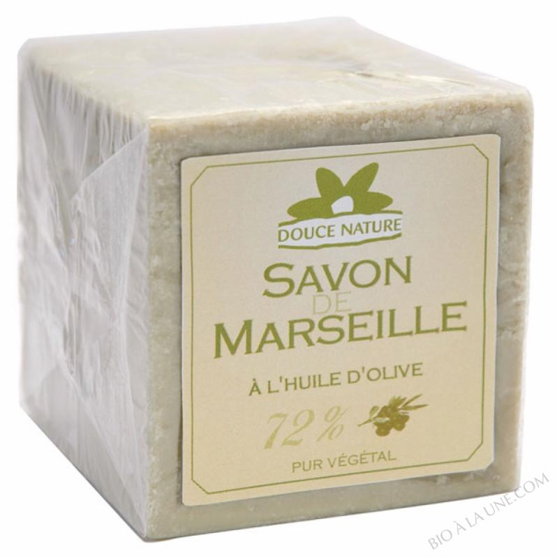 Savon vert de Marseille à l'huile d'olive 600gr