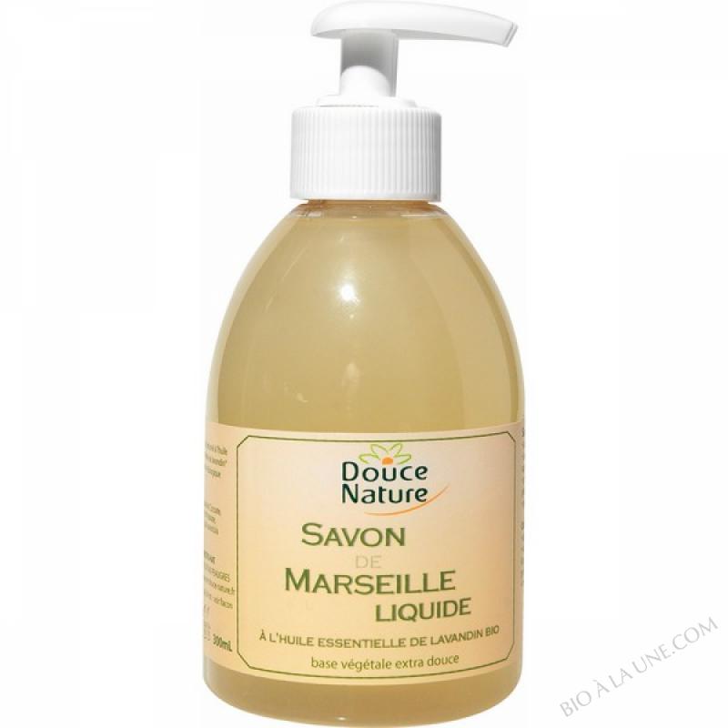 Savon de Marseille à l'huile essentielle de lavandin bio 300ml