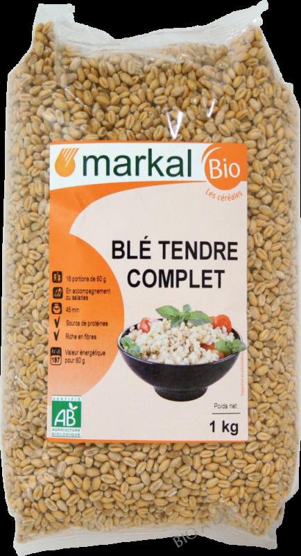 BLÉ TENDRE COMPLET - 1Kg