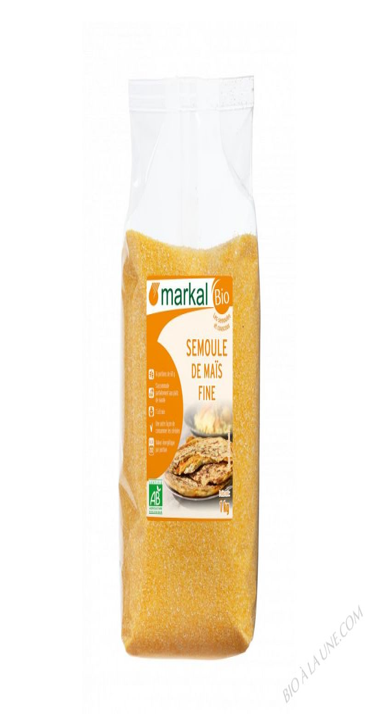 Semoule de maïs fine- 1 kg