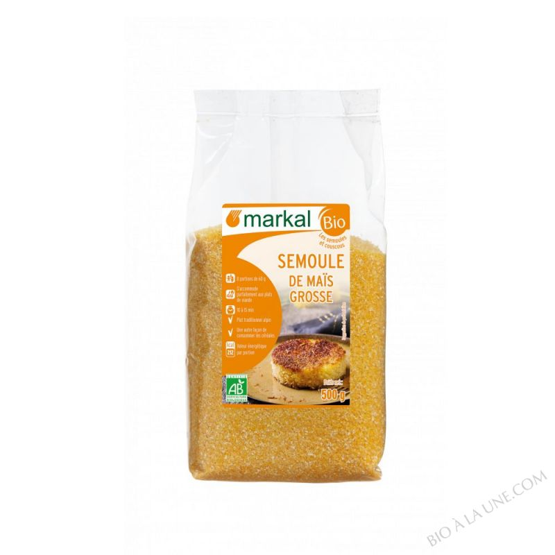Semoule de maïs Grosse - 500g