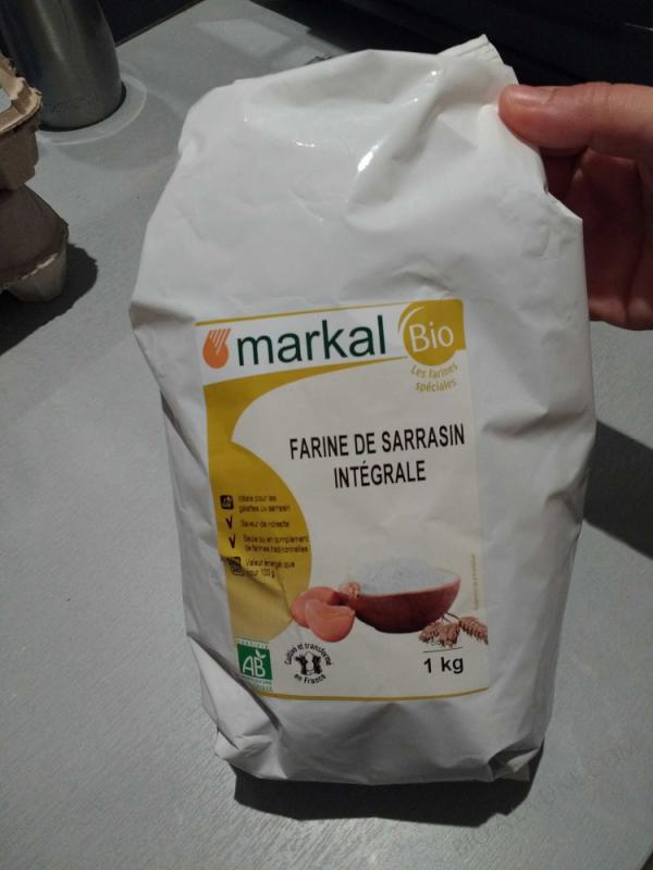 Farine de Sarrasin Integrale 1kg