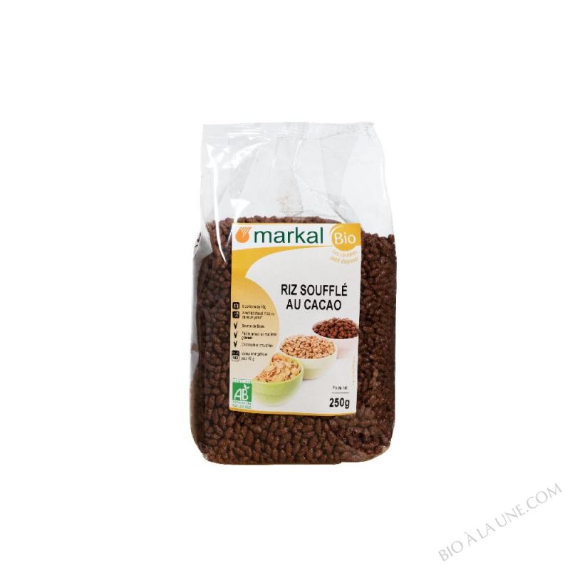 Riz soufflé au cacao