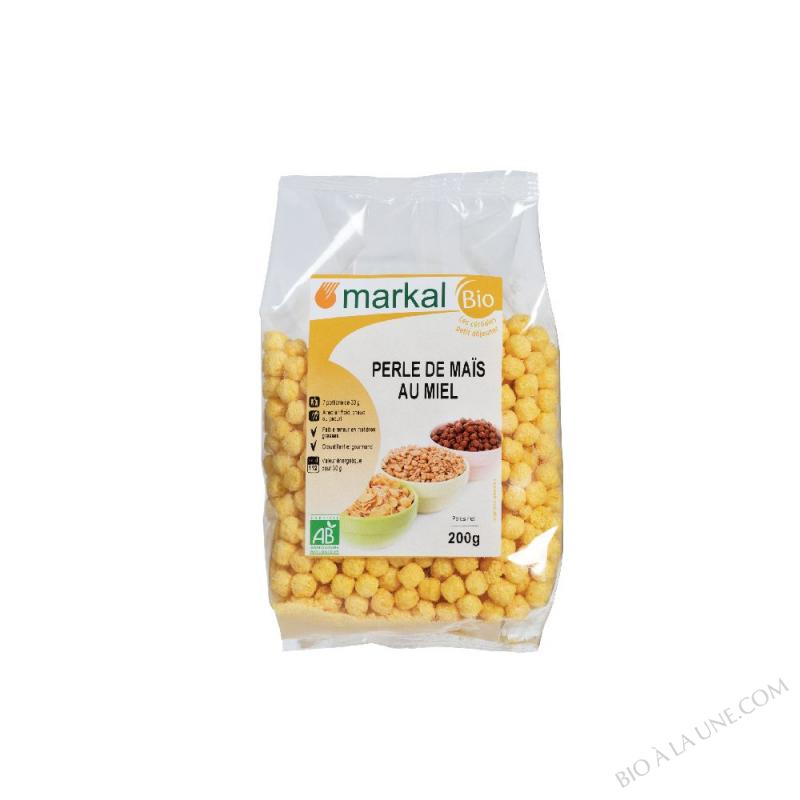 Perles de maïs au miel
