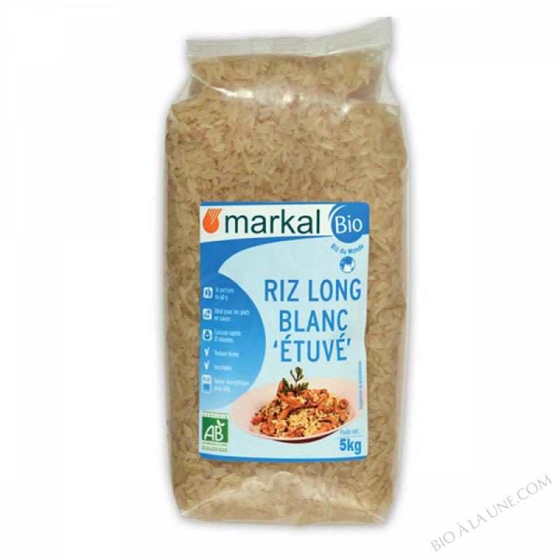 Riz Long Blanc etuve 5kg