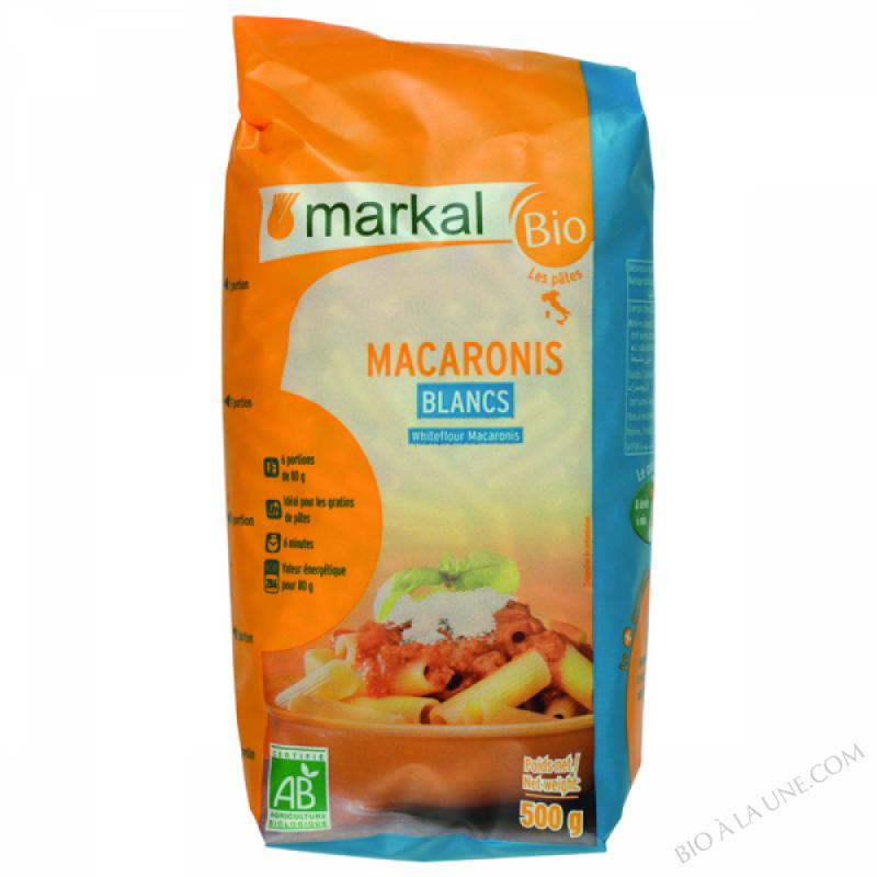 Macaronis blancs 500g