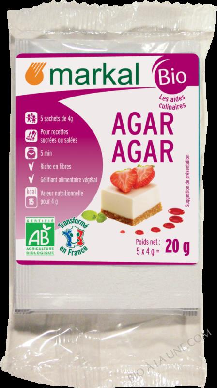 AGAR-AGAR POUDRE - 20G