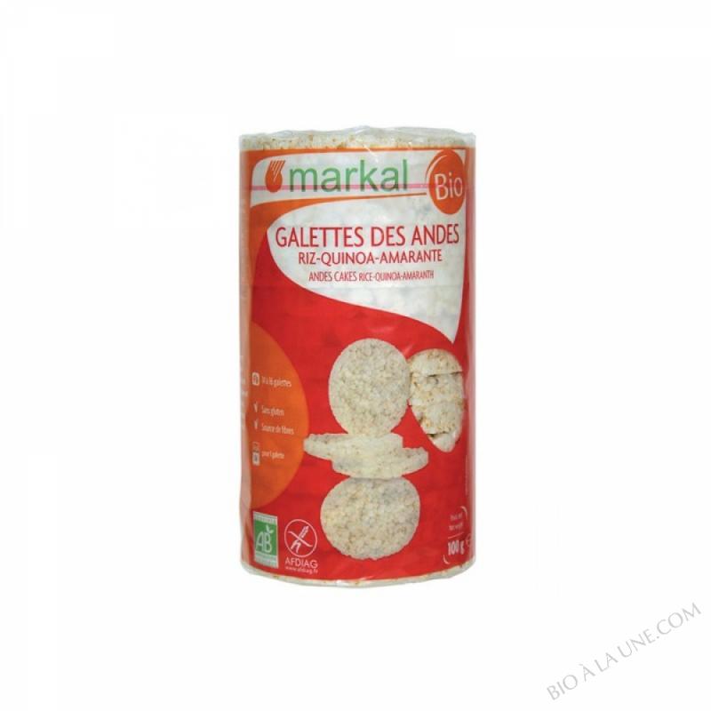 Galettes de riz Quinoa Amaranthe 100g