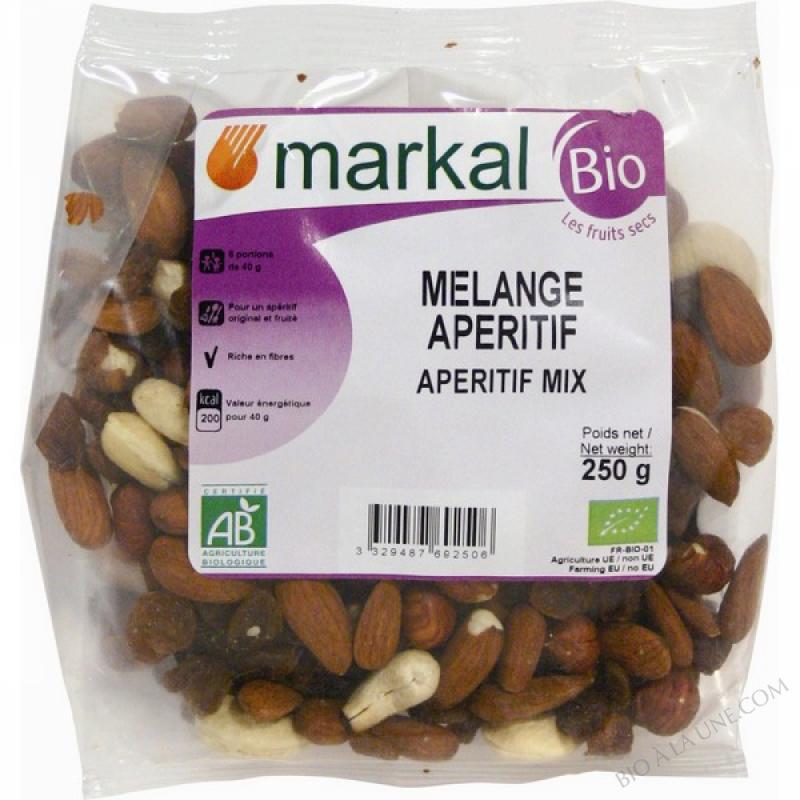 MELANGE APERITIF (Raisins, Cajou, Amandes, Noisettes) - 250g