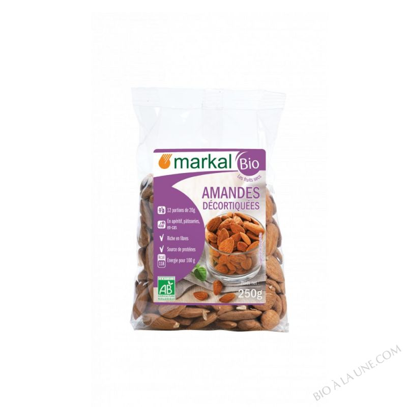 Amandes Decortiquees 250g