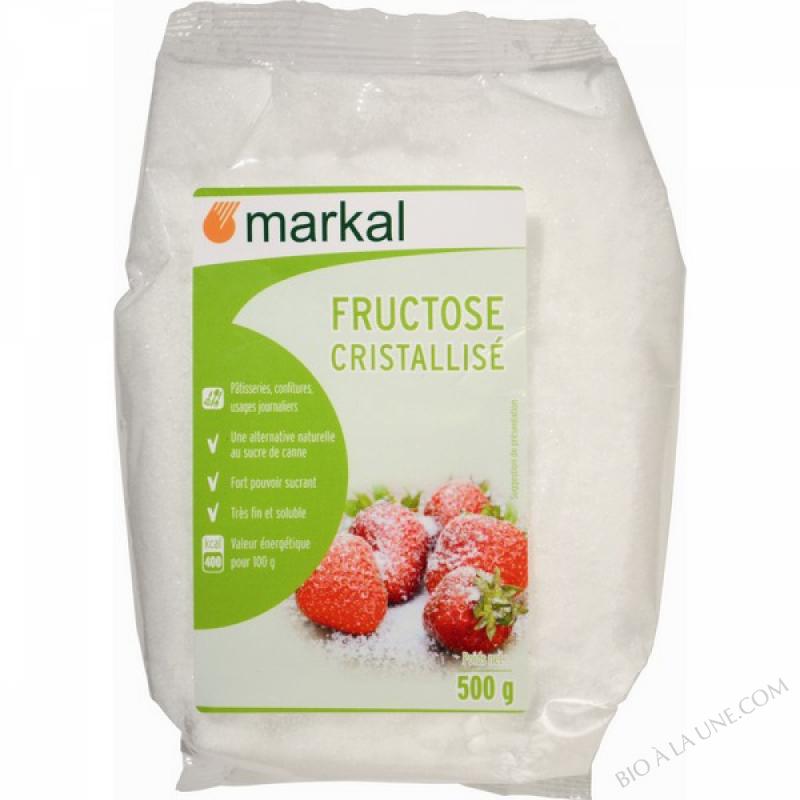 FRUCTOSE CRISTALLISE - Non bio - 500g